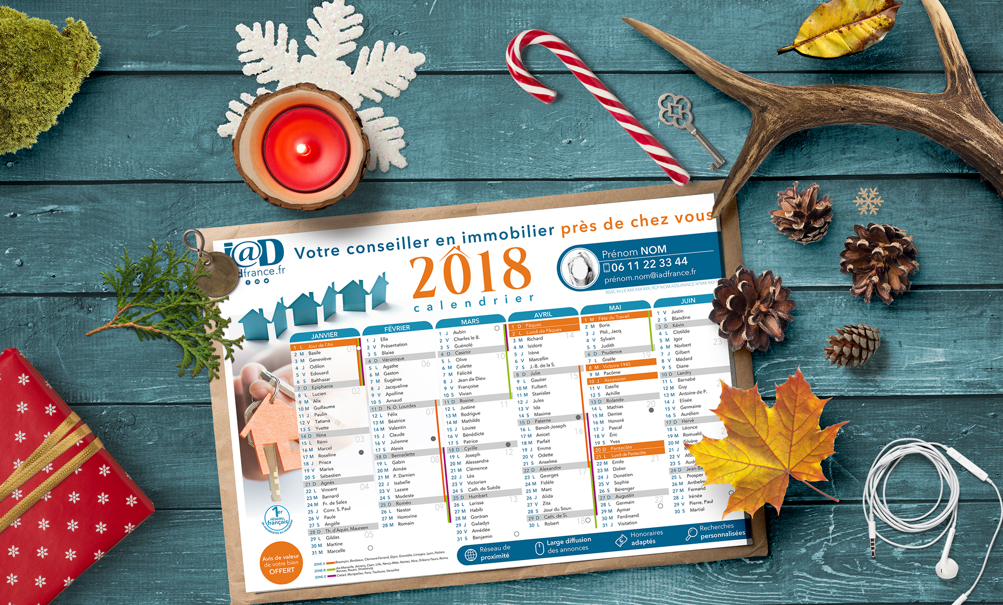 flyer calendrier